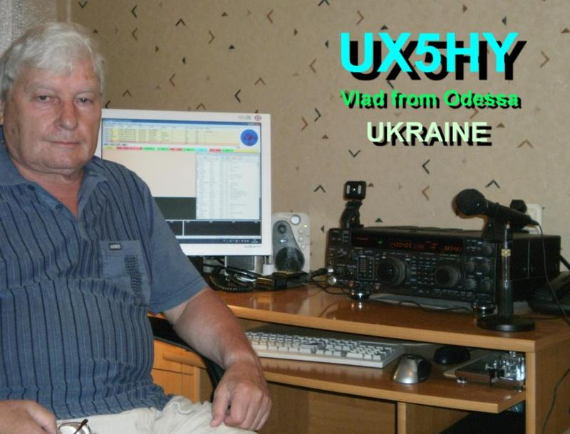 QSL image for UX5HY