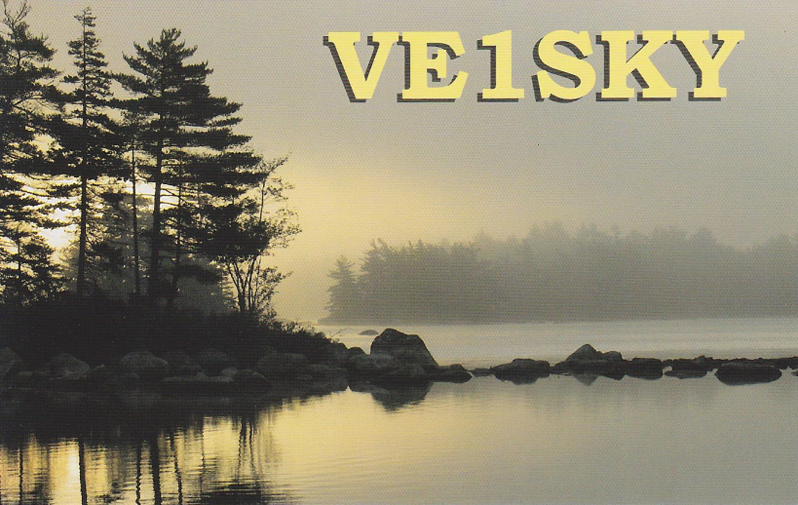 QSL image for VE1SKY