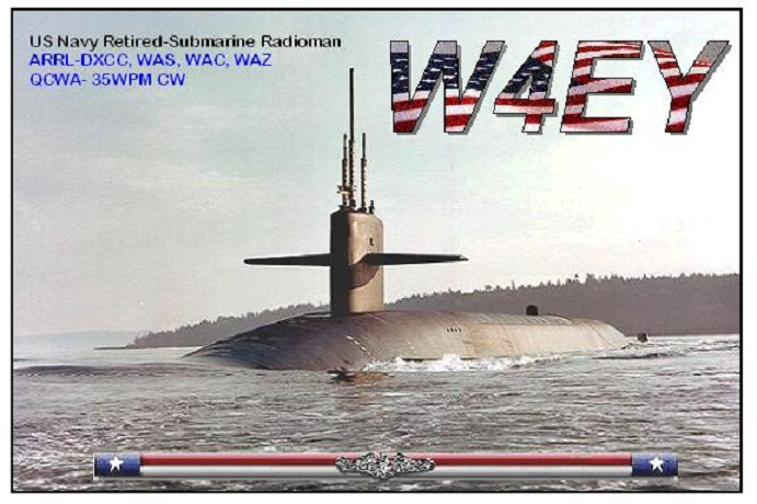 QSL image for W4EY