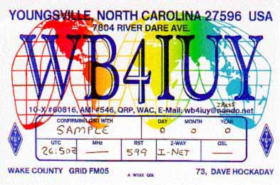 QSL image for WB4IUY