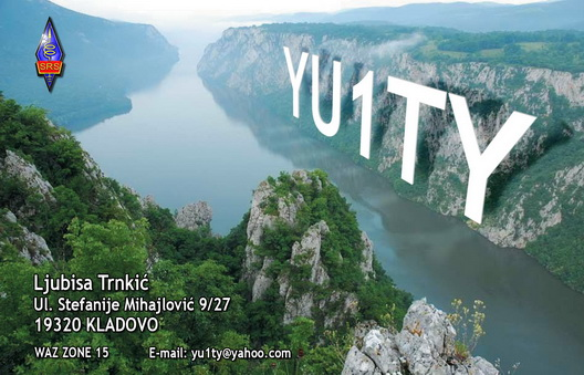 QSL image for YU1TY