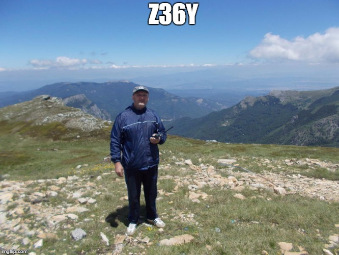 QSL image for Z36Y