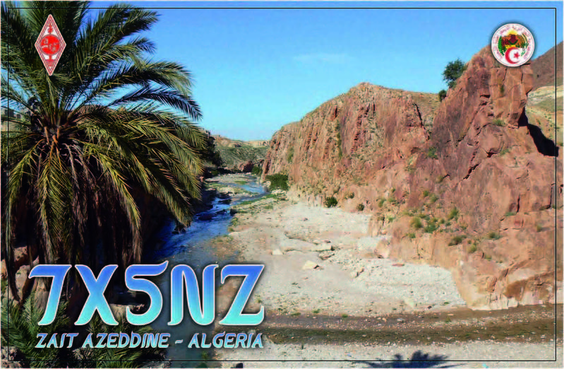 QSL image for 7X5NZ