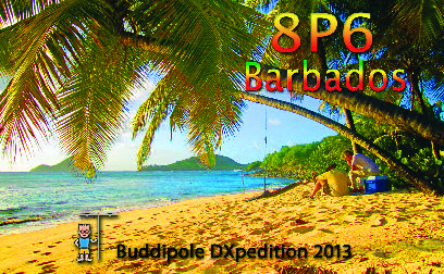 QSL image for 8P9WZ
