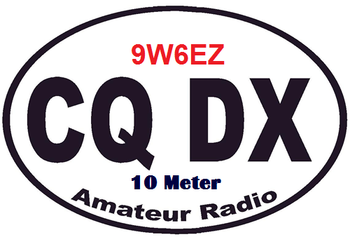QSL image for 9W6EZ