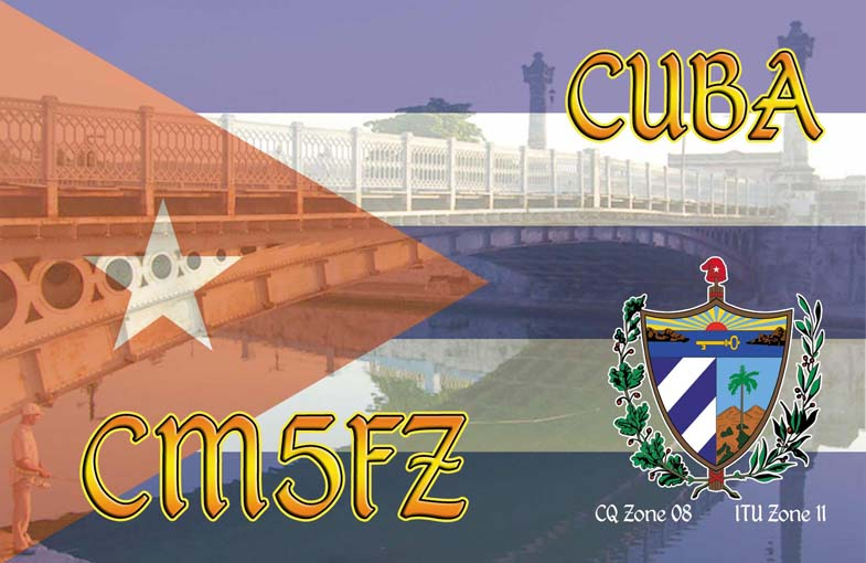 QSL image for CM5FZ