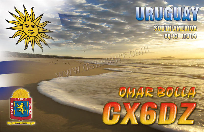 QSL image for CX6DZ
