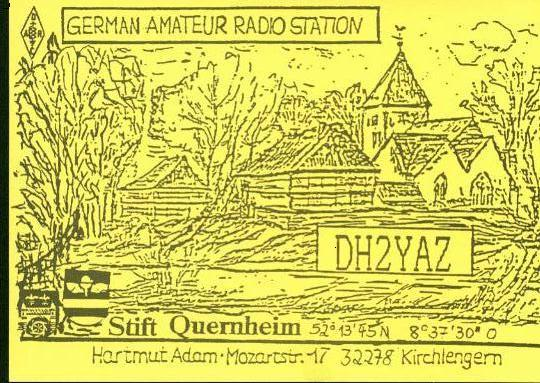 QSL image for DH2YAZ