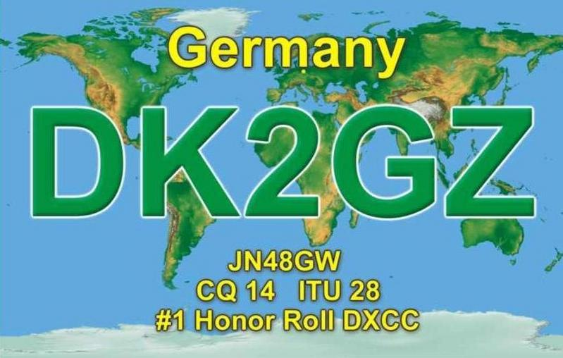 QSL image for DK2GZ