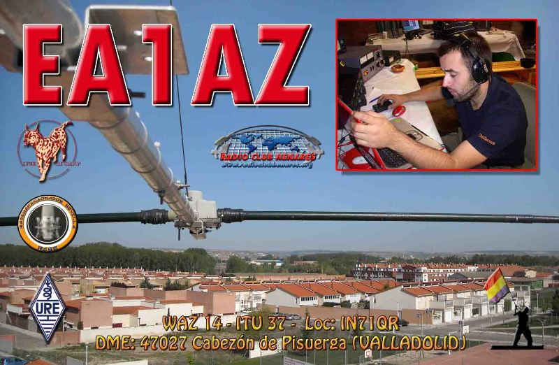 QSL image for EA1AZ