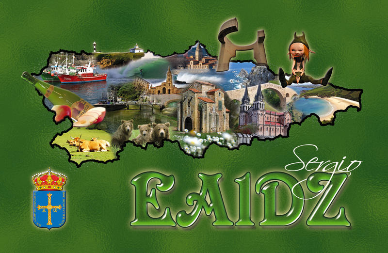 QSL image for EA1DZ
