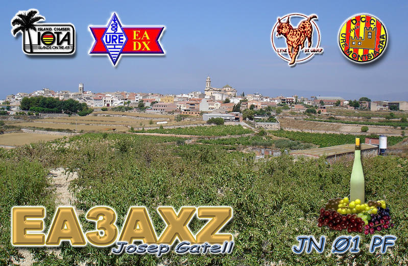 QSL image for EA3AXZ