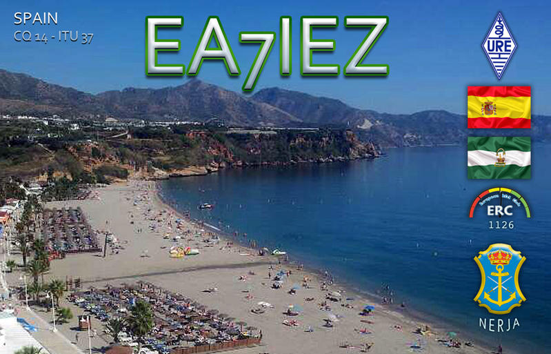 QSL image for EA7IEZ