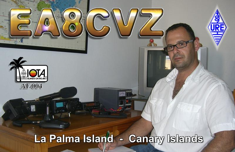 QSL image for EA8CVZ