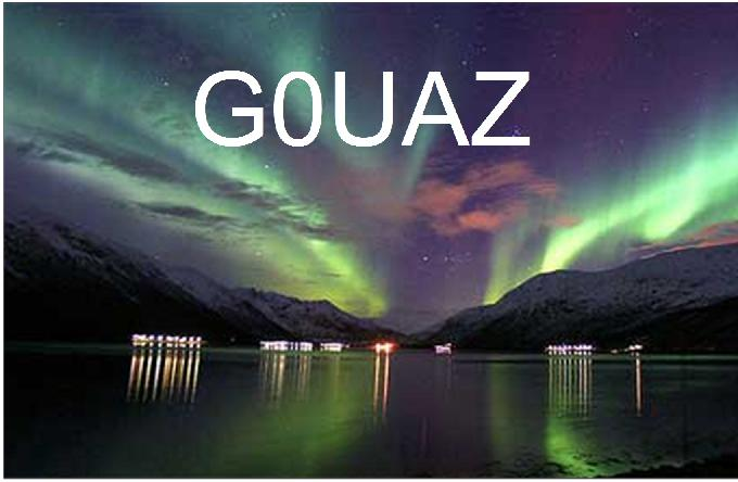QSL image for G0UAZ