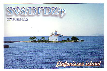 QSL image for I3FDZ