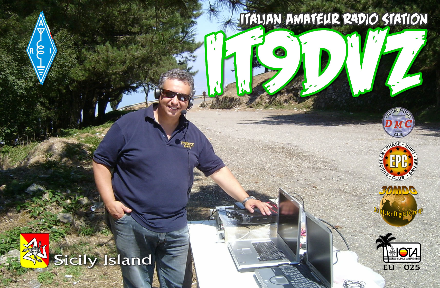 QSL image for IT9DVZ
