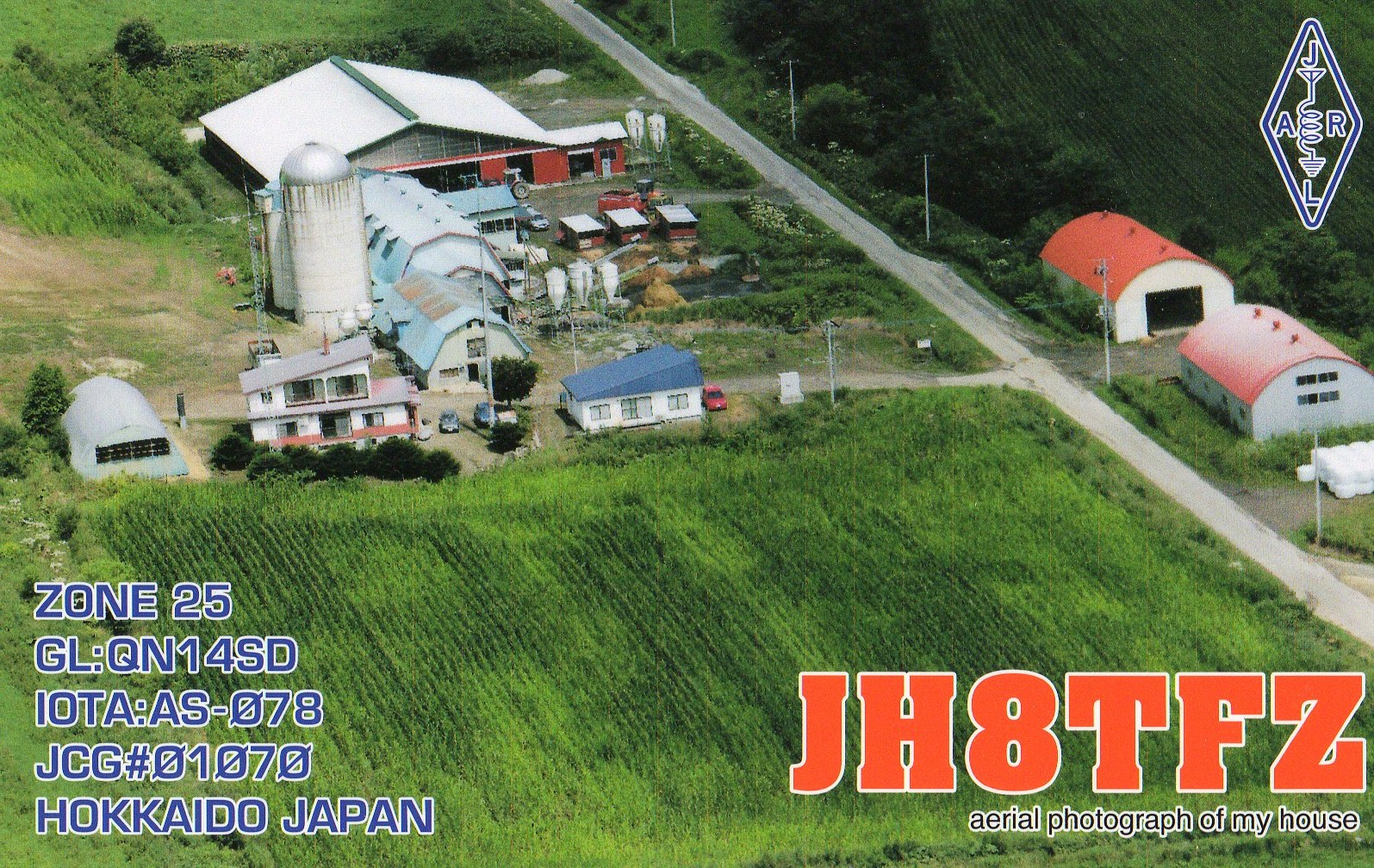 QSL image for JH8TFZ