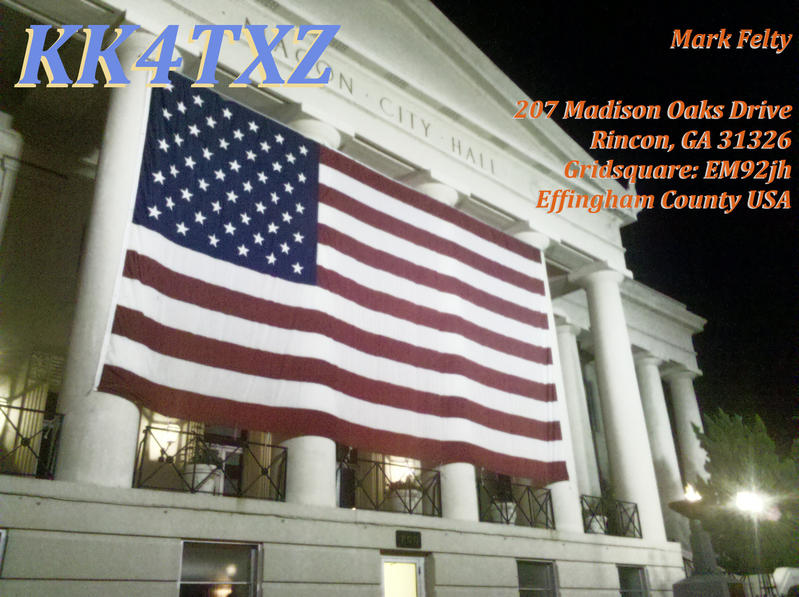 QSL image for KK4TXZ