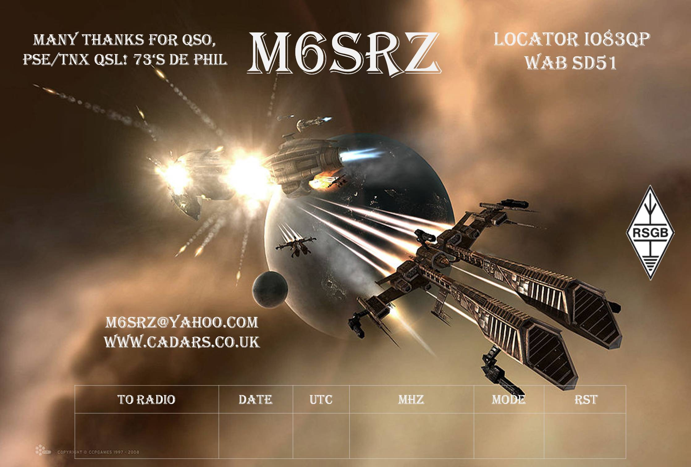 QSL image for M6SRZ