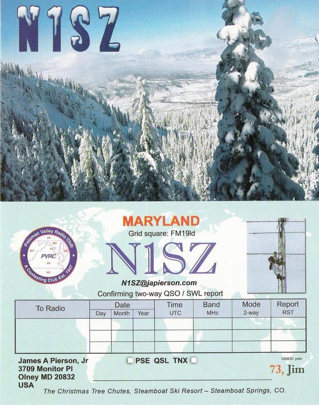QSL image for N1SZ