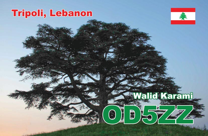 QSL image for OD5ZZ