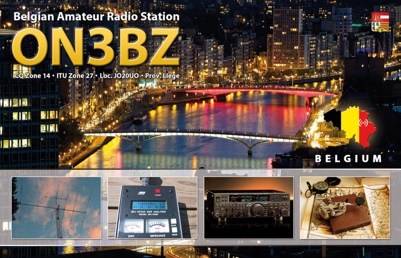 QSL image for ON3BZ