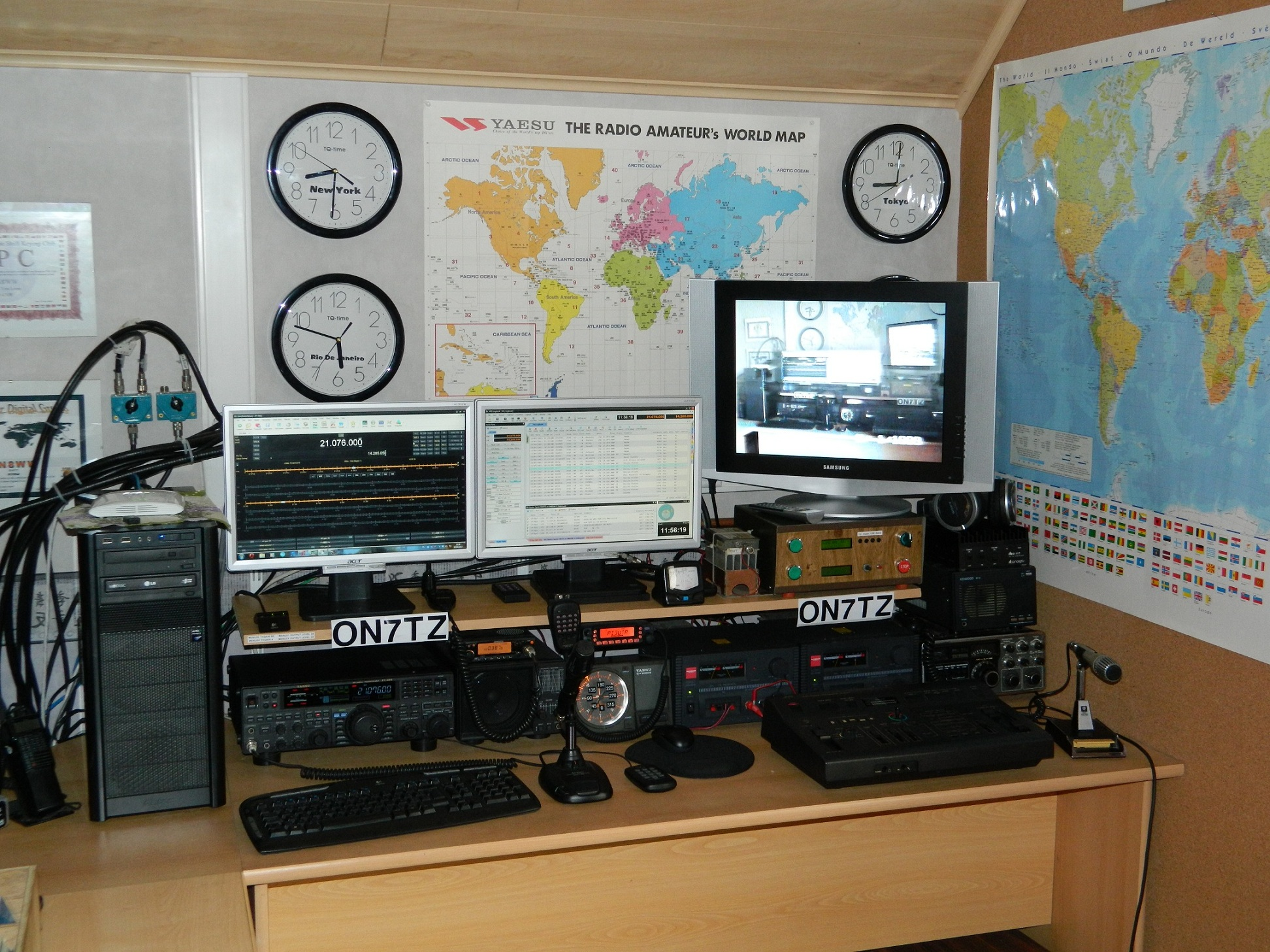 QSL image for ON7TZ