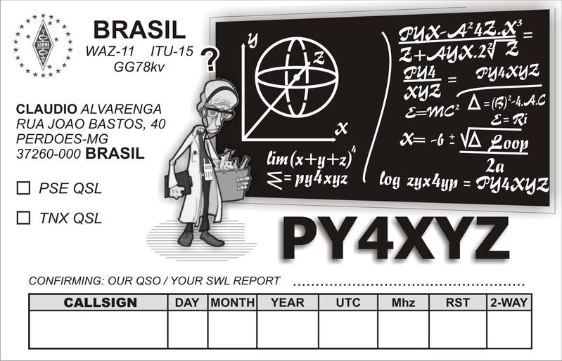 QSL image for PY4XYZ