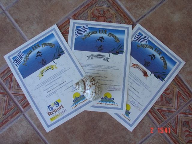 GIOTA AWARD DIPLOMA 