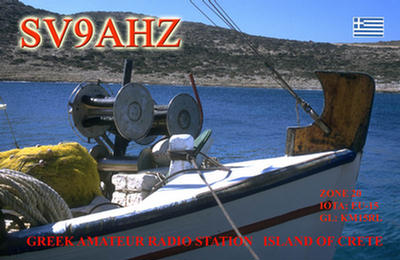 QSL image for SV9AHZ