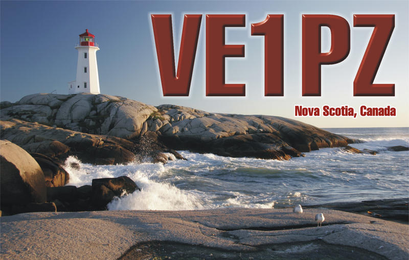 QSL image for VE1PZ