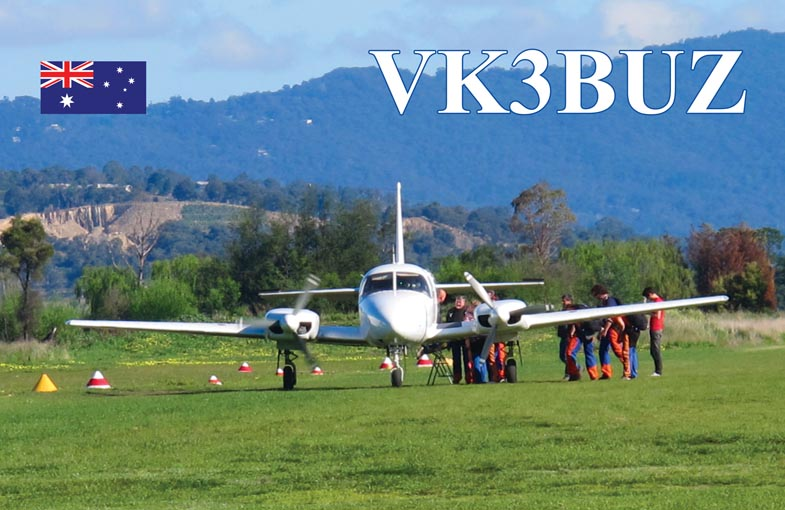 QSL image for VK3BUZ