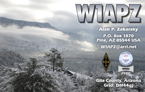 QSL image for W1APZ
