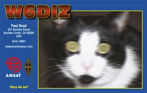 QSL image for W6DIZ