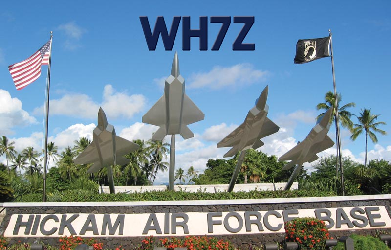 QSL image for WH7Z