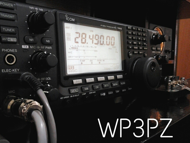 QSL image for WP3PZ