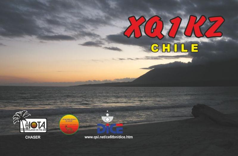 QSL image for XQ1KZ