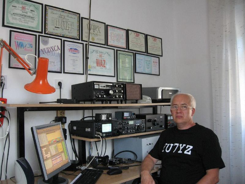 QSL image for YU7YZ